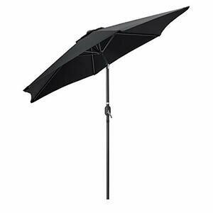 CHRISTOW Tilting Garden Parasol Umbrella 2.7m