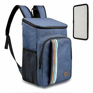 TOMSHOO 30L Cooler/Picnic Backpack for 2-4 People - Blue