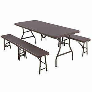 Femor bbq Table Bench Set