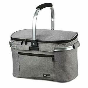 bomoe Cooler Bag Insulated Basket Foldable IceBreezer