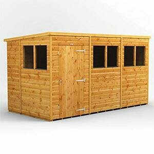 POWER Sheds 12 x 6 wooden shed.