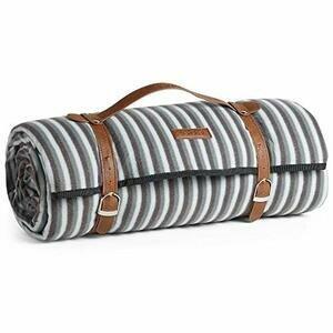VonShef Extra Large, Striped Picnic Blanket