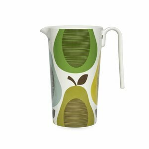 Orla Kiely Melamine Giant Pear Pitcher