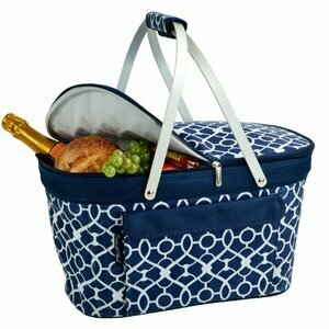 Picnic at Ascot Patented Insulated Folding Picnic Basket Cooler