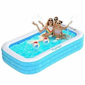Hyvigor Inflatable Paddling Pool for Kids