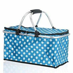 ZHUSHI 30l Large Folding Picnic Bag (Blue)