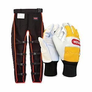 OREGON Universal Type A Chainsaw Safety Leggings and Gloves
