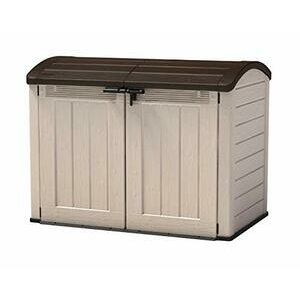 Keter Store-It Out Ultra Outdoor Plastic Garden Storage/Bike Shed (Beige)