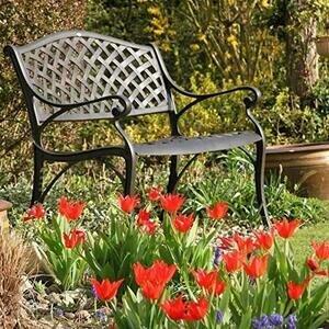 Lazy Susan Jasmine 2-seater Metal Garden Bench