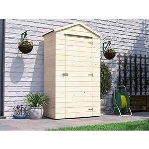 Dunster House Sentry Box Wooden Garden Tool Shed