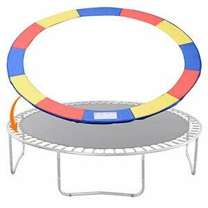 Exacme Trampoline Replacement Safety Pad Round Spring Cover (Multicolour, 10 Foot)