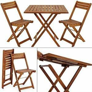Deuba Balcony Garden Chair Set