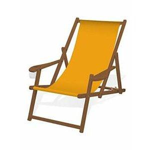 Iyom Wooden Beach Chair