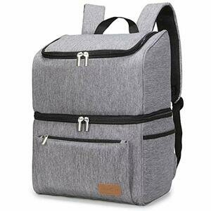 Lifewit 18L (34-Can) Double-Decker Soft Cooler Backpack
