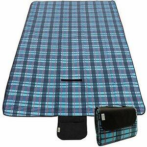 CampTeck Extra Large Folding Picnic Blanket