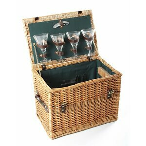 Greenfield Collection Amersham Picnic Basket for Four