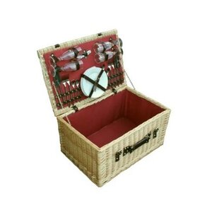 Greenfield Collection Newbury Picnic Basket for Four