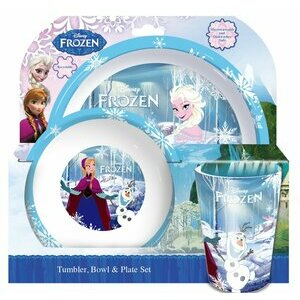 3-piece Frozen Tumbler, Bowl and Plate Set