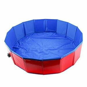 Homend Foldable Swimming Pool For Dogs (80cm x 20cm(32inch.D x 8inch.H))