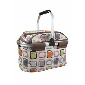 Sturdy 4 person coolbag with utensils