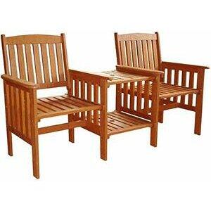 garden mile® Hardwood Garden Love Seat