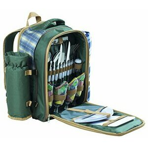 Andes 4 Person Deluxe Picnic Set