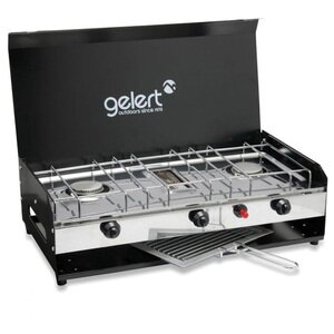 GELERT GAS CAMPING DOUBLE BURNER
