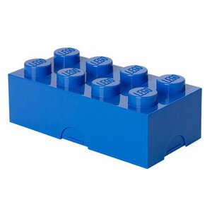 Lego Lunch Box 8 Blue