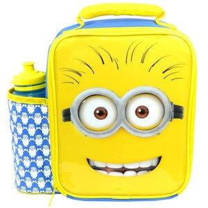 Minions Movie Deluxe Lunch Bag/Box and Bottle Set