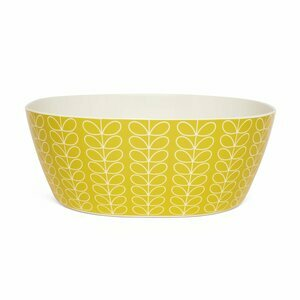 Orla Kiely Melamine Linear Stem Salad Bowl