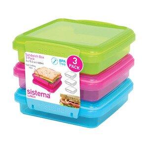 Sistema Sandwich Box x 3