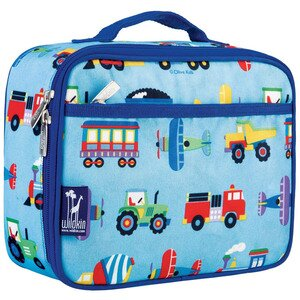 Wildkin Kids Transport Lunch Box Blue