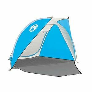 Coleman Compact Shade Shelter - Blue/White, One Size