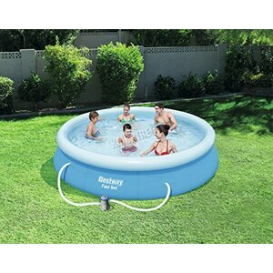 Bestway Fast Set Round Inflatable Swimming Pool Set   BW57274