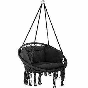 TecTake 800708 Hanging Chair, Hammock with Seat Cover