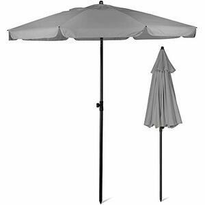 SUNMER 2M Grey Beach Parasol