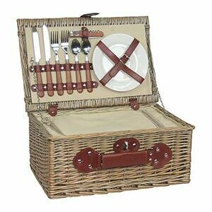 2 Person Fitted Picnic Basket with Chiller
