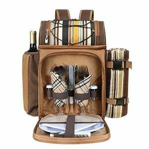 Hap Tim Picnic Backpack Cooler for 2