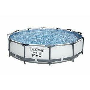 Bestway BW56416GB-21 Steel Pro Round Frame Swimming Pool Set