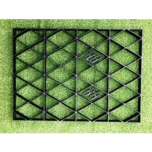 ECODECK Garden Greenhouse Base - Eco Friendly with Included Membrane (6x4 Feet)