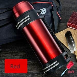 High Capacity Thermos Hot & Cold Water Bottle (Stainless Steel)