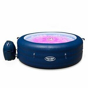 Lay-Z-Spa BW14294 Saint Tropez Hot Tub with Floating LED Light (Blue)