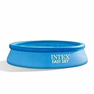 Intex 28106EH 8 X 24 Inch Easy Inflate, Puncture Resistant Swimming Pool (Blue)
