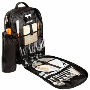 Brubaker Deluxe Picnic Rucksack for Four People