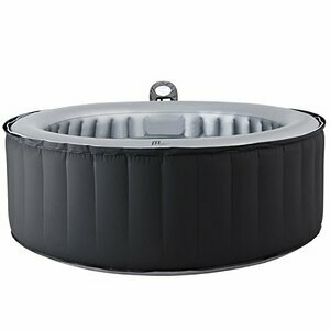 MSpa Lite Silver Cloud Bubble Spa Portable Hot Tub