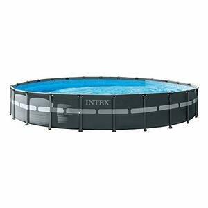 Intex 24ft x 52inch Round Ultra XTR Metal Frame Swimming Pool