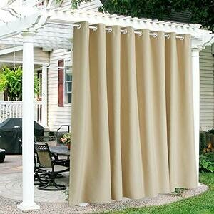 RYB HOME Outdoor Curtains