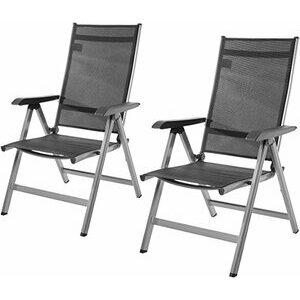 Amazon Basics 5-Position Adjustable Patio/Picnic Chairs (set of 2)