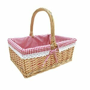 Wicker Picnic Basket Willow - Natural Colour