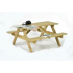 BrackenStyle Jersey Picnic Table - For 6